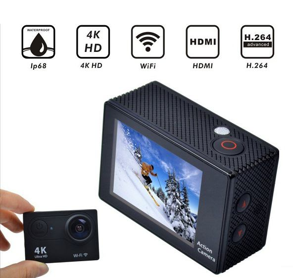 Camera chống nước WIFI 4K ULTRA HD