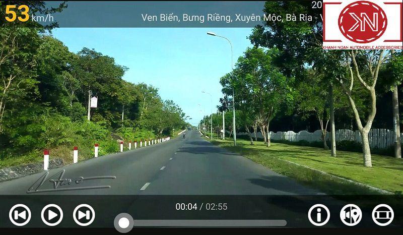 Giới thiệu phần mềm camera hành trình cho android