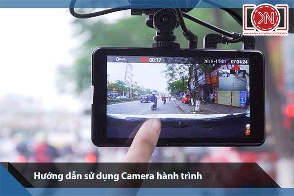 Cách sử dụng camera hành trình